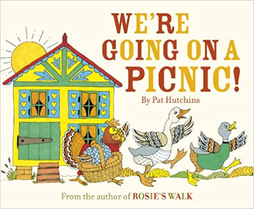 Cover illustration of 'We're Going On a Picnic' by Pat Hutchins (Red Fox, 2013)
